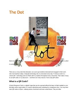 The Dot Concepts with Q.R.Codes