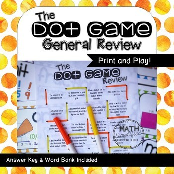 The Dot Game: General Review