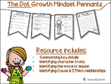The Dot: Growth Mindset Pennants with ELA Skills Practice