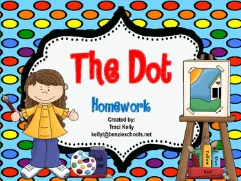 The Dot Homework - Scott Foresman 1st Grade