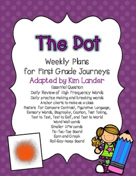 The Dot Journeys Lesson Plans and Supplemental Materials
