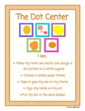 The Dot Library Center Signs