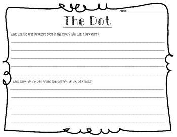 The Dot Response Sheets