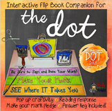 THE DOT, BY PETER H. REYNOLDS LITERATURE GUIDE COMPANION FLIP BOOK