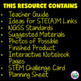 The Dot by Peter Reynolds Activities (Catapult Dot Day STEM Challenge)