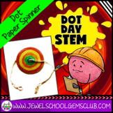 The Dot by Peter Reynolds Activities (Paper Spinner Dot Da