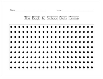 photograph about Dots Game Printable known as The Dots Activity 11 Printable Seasonal Dots Online games Best associate effort!