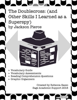 The Doublecross by Jackson Pierce - Novel Guide & Vocabulary (2018 SSYRA Book)
