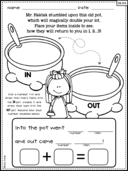 The Doubling Pot: An Engaging Doubling Lesson