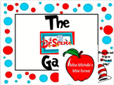 The Dr. Seuss Game - Pre-K Skills Game
