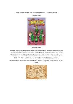 The Dragons Camelot Novel Study