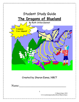 The Dragons of Blueland Study Guide