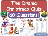 The Drama Christmas Quiz! (Theatre, Performing Arts)