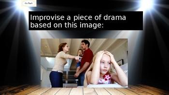 The Drama Improvisation Generator! 170 exciting drama scenarios