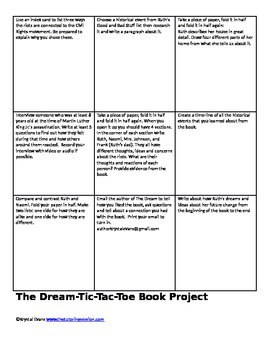The Dream: A Civil Rights Story Project, Questions & Free Book Download