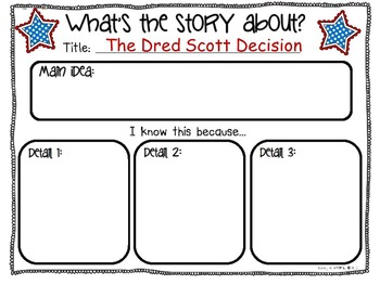 The Dred Scott Decision  ~ Cornerstones of Freedom Book