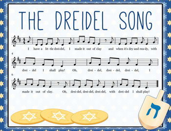 picture regarding Dreidel Game Rules Printable named The Dreidel Music: Track and Activity Guidance