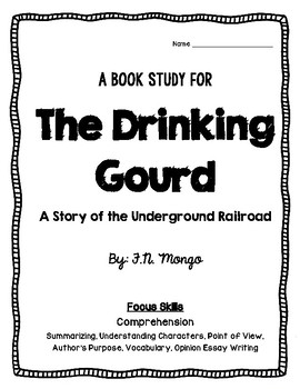 The Drinking Gourd Print & Go Book Study