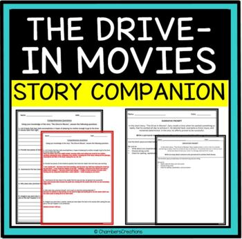 The Drive-In Movies by Gary Soto- Activity Pack!