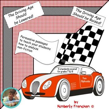Driving Age: Nonfiction Reading Flip Books