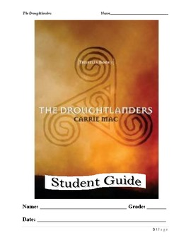The Droughtlanders by Carrie Mac Literature Unit for Students