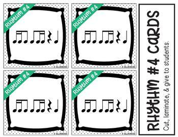 8th 16th Notes, Ti-Tika/Tika-Ti Rhythm Game