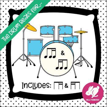 Rhythm PowerPoint Game: 8th 16th Notes - The Drum Beats For... Ti-Tika/Tika-Ti