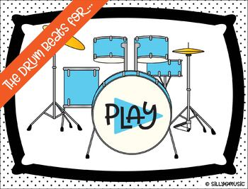 The Drum Beats For... Half Note Rhythm PowerPoint Game