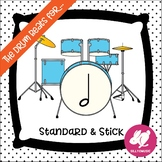 Rhythm PowerPoint Game: Half Note - The Drum Beats For... Ta-a