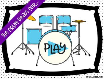 Rhythm PPT Game Bundle: The Drum Beats For...