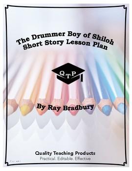 Lesson: The Drummer Boy of Shiloh by Ray Bradbury Lesson Plan, Worksheets, Key