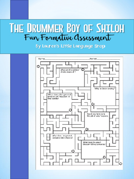 The Drummer Boy of Shiloh Maze