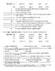 The Drummer Boy of Shiloh by Ray Bradbury Vocabulary Worksheet & KEY