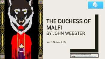 The Duchess of Malfi: (2) Act 1 Scene 1