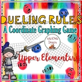 Math Game: Dueling Rules Coordinate Graphing for Upper Elementary