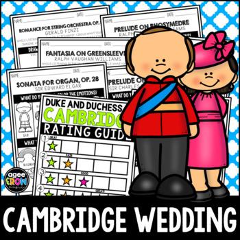 The Duke and Duchess of Cambridge Wedding, Listening Sheets, England