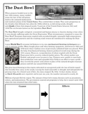 The Dust Bowl-Causes & Effects