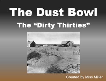 The Dust Bowl PowerPoint
