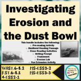 Wind Erosion Lab and Dust Bowl Reading and Writing Activities