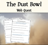 The Dust Bowl - Wind Erosion Research Assignment (Web Quest)