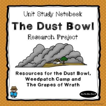 The Dust Bowl and Weed Patch Camp Research Project