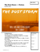 The Dust Storm -- ESL Beginner Fiction with Vocabulary and Grammar.