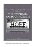 The Dysphagia Patient Handout Package