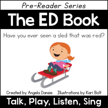 The ED Book and Games (Word Family Pre-Reader Series)