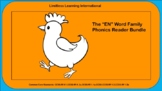 "The ""EN"" Word Family Phonics Reader Bundle"