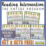 Reading Intervention Program- Entire Curriculum Bundle