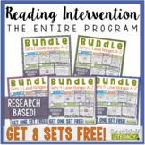 Reading Intervention Program- Entire Curriculum Bundle