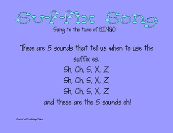 The ES Suffix Song