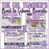 The ESL/EFL Teacher's Back-to-School Bundle Version H