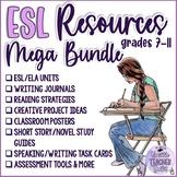 The ESL Teacher's MEGA Bundle for The Entire School Year